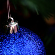 Christmas ornaments on tree. — Stock Photo