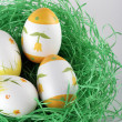 Painted easter eggs — Stock Photo #5378721