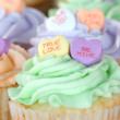 Valentines Cupcakes — Stock Photo #5145977