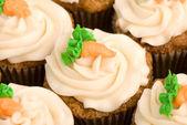 Carrot Cake Cupcakes — Stock Photo