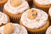 Cookie Dough Cupcakes — Stock Photo