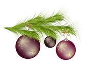 Christmas tree — Cтоковый вектор