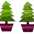 Royalty-Free Stock Vector Image: Two trees