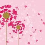 Lovely flowers — Stock Vector