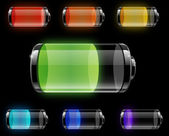 Batteries — Stock Vector