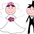 Stockvector : Wedding