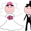 Stock Vector: Wedding