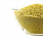 Millet grains — Stock Photo