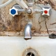 Old tap — Stock Photo