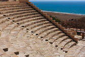 Ancient theatre at Kourion — Stock Photo