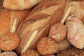 Rustic Bread and Rolls — Stock Photo