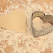 Heart Cookie Cutter — Stock Photo