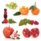 Healthy Fruit Selection — Stock Photo