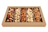 Nut Selection — Stockfoto
