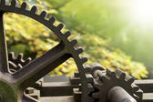 Old rusty gears — Stock Photo
