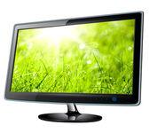 Monitor lcd, tv — Stock Photo