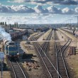 Stock Photo: Transportation on railway