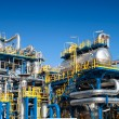 Stock Photo: Oil industry equipment installation