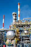 Part of a big oil refinery — Stock Photo