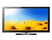 Flat screen tv — Stock Photo
