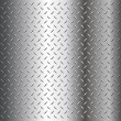 Diamond plate texture — Stock Vector