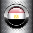 Royalty-Free Stock Vector Image: Egypt flag button