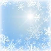 Fond hiver — Vecteur