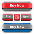 Buy buttons — Stock Vector