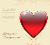 Love background — Vector de stock