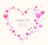 Fondo de amor — Vector de stock