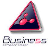 Logo 3D — Stock Vector