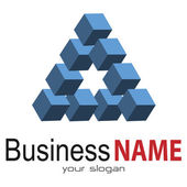 Progettazione del logo — Vettoriale Stock