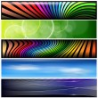 Banners, headers — Stock Vector #5042388