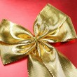 Golden ribbon — Stock Photo