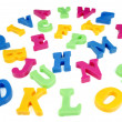 Colorful alphabet letters — Stock Photo