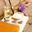 Nice spa arrangement — Stock Photo