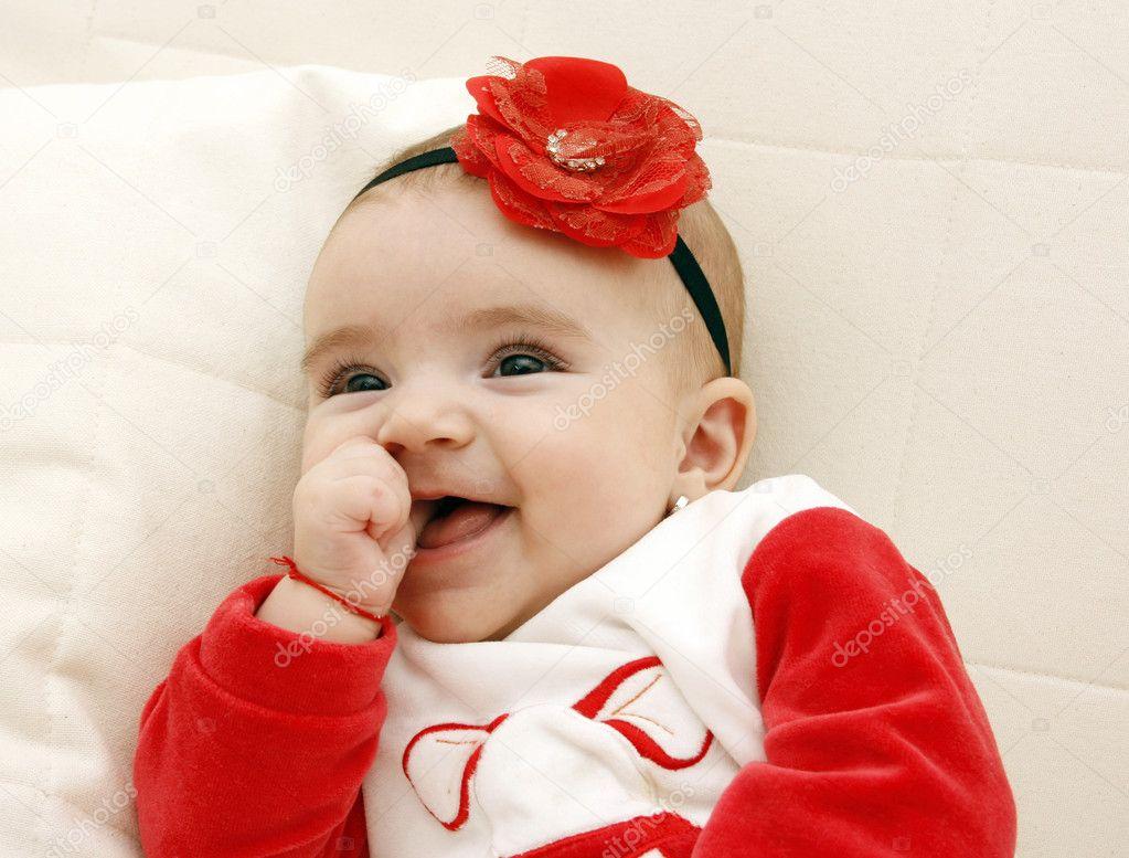 Beautiful Baby Girl Stock Photo Karuka 4591327