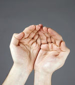 Open hand — Stock Photo