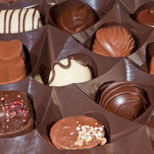 Close-up of chocolates — Stock Photo