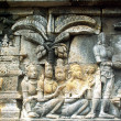 Foto Stock: Borobudur buddhist temple
