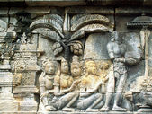 Borobudur buddhist temple — Foto Stock