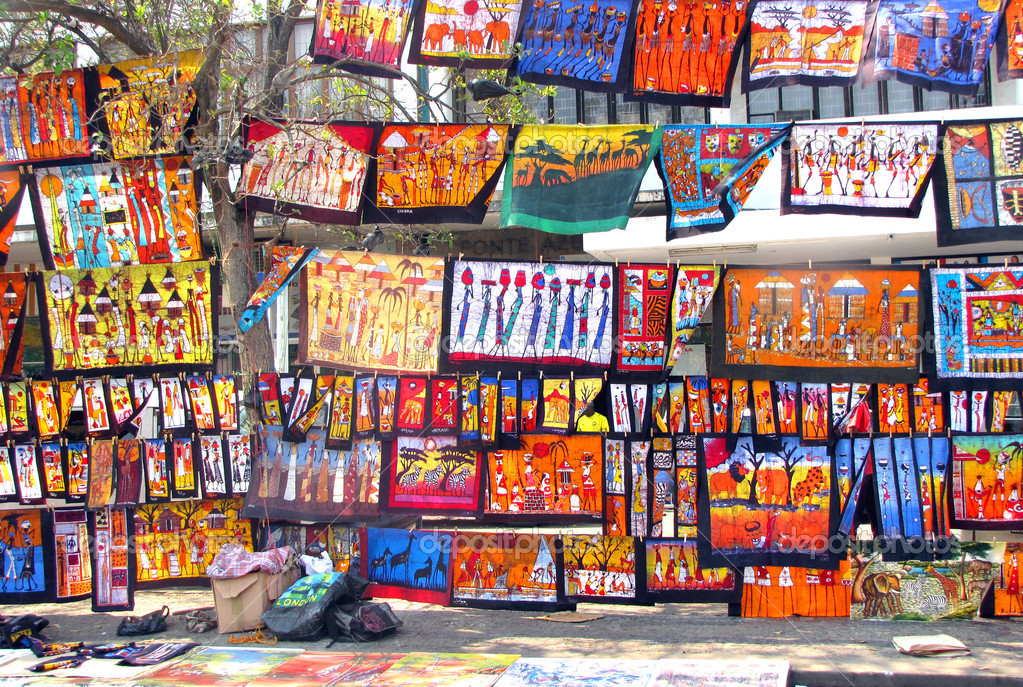 Colorful Paintings Sold at The