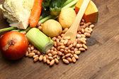 Ingrédients de minestrone — Photo