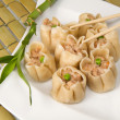 Shrimp dim sum — Stock Photo