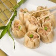 Stock Photo: Shrimp dim sum