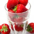 Red strawberry — Stock Photo