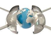 Earth under pressure — Stock Photo