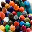 Old wax crayons — Stock Photo #4442413