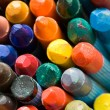 Old wax crayons — Stock Photo #4442414