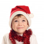 Little Santa — Stock Photo #4465438